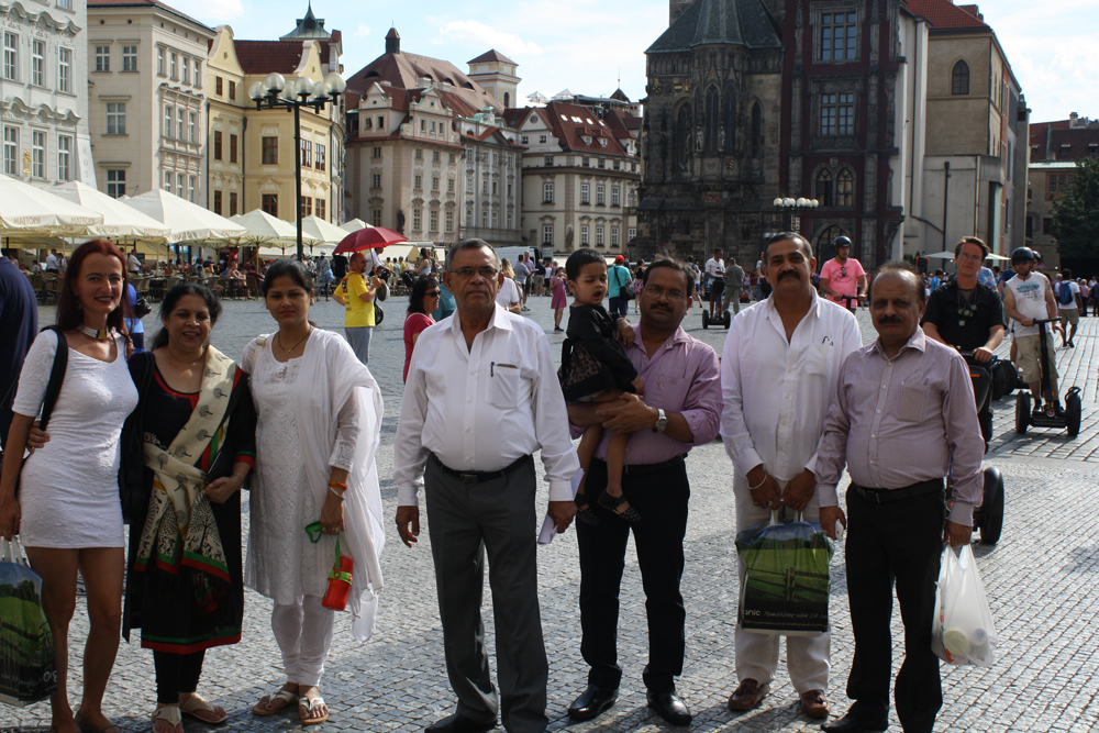 Visit of Indian partners in Prague and signing cooperation agreement